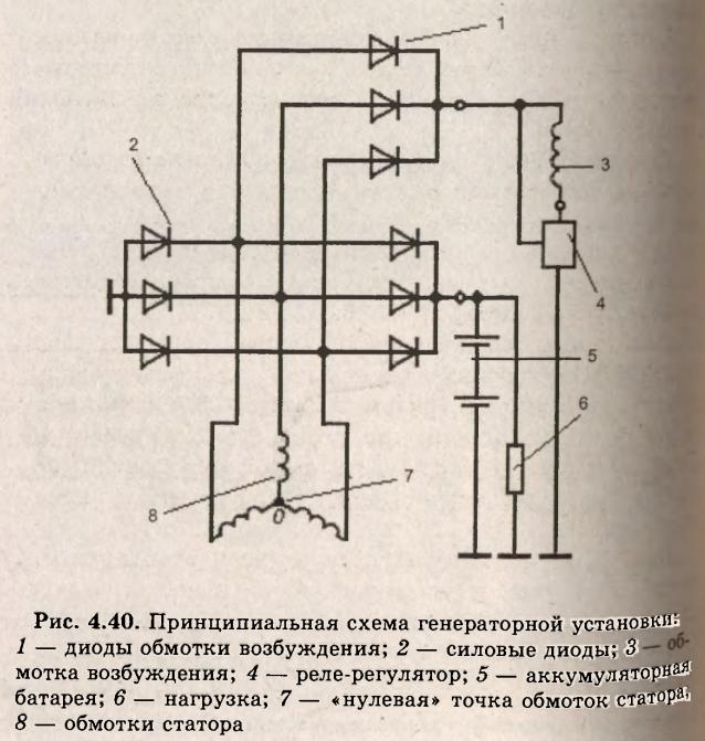электрическая схема тойота vitz